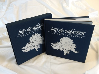 Into The Wilderness – Collector's Edition Book – Signed- Signed By The Artist – BookHardcover – Limited Edition – Signed – 10x10 –