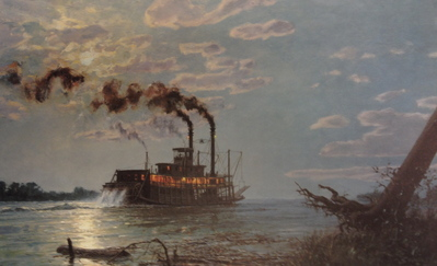 Night Run To Friar's Point- Signed By The Artist – PaperLithograph – Limited Edition – 750S/N – 13 3/4x22