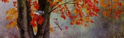 Fall Colors- Signed By The Artist – PaperLithograph – Limited Edition – 76A/P – 10 1/8x32 1/2