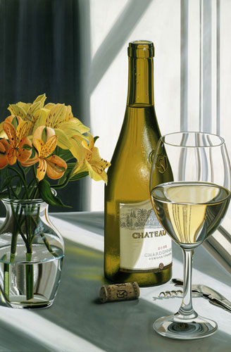 Chateau- Signed By The Artist								 – Canvas Giclee – Limited Edition – 30 S/N – 36 x 24