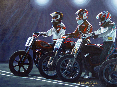 On Your Mark- Signed By The Artist – CanvasGiclee – Limited Edition – 50S/N – 25x33