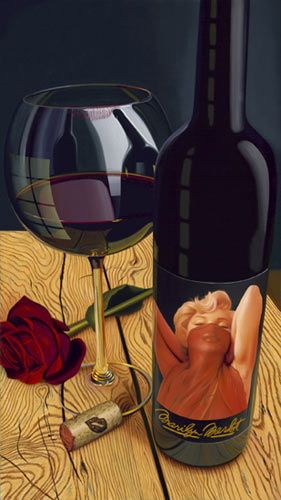Roses Or Red- Signed By The Artist – CanvasGiclee – Limited Edition – 99S/N – 32x18