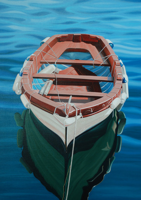 Aegean Calm- Signed By The Artist – CanvasGiclee – Limited Edition – 50S/N – 28x20