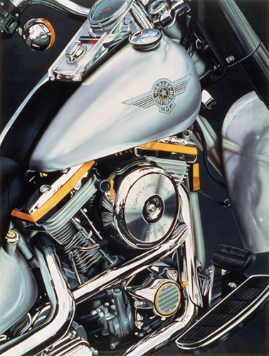 Fat Boy- Signed By The Artist								 – Canvas Giclee – Limited Edition – 100 A/P – 30 x 23