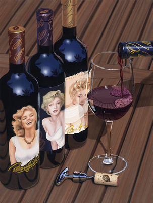 Ladies In Waiting- Signed By The Artist – CanvasGiclee – Limited Edition – 60P/P – 33x25