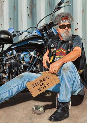 The Panhandler- Signed By The Artist – CanvasGiclee – Limited Edition – 100S/N – 40x28