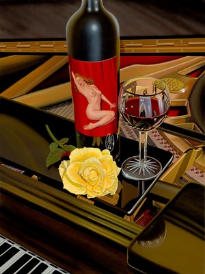 A Rose By Any Other Name- Signed By The Artist – CanvasGiclee – Limited Edition – 60P/P – 32x24