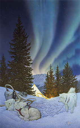 Aurora- Signed By The Artist – PaperLithograph  – Limited Edition  – 2250S/N  –  22 1/4x14