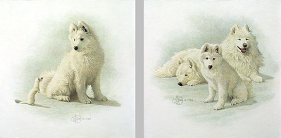 A New Generation & A Curious Encounter (2-Piece Set)- Signed By The Artist – PaperLithograph  – Limited Edition  – 850S/N  –  14 7/8x14 1/2