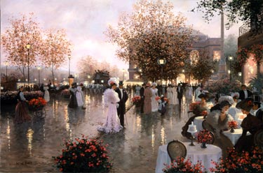 Elegant Evening Out- Signed By The Artist								 – Canvas Giclee – Limited Edition – 295 S/N – 24 x 36