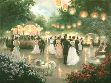 Enchanted Evening- Signed By The Artist								 – Canvas Giclee – Limited Edition – 180 S/N – 30 x 40
