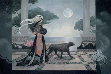 La Lune- Signed By The Artist								 – Canvas Giclee – Limited Edition – 180 S/N – 24 x 36