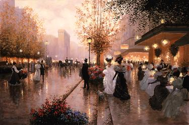 Porte St. Denis- Signed By The Artist – CanvasGiclee – Limited Edition – 180S/N – 24x36