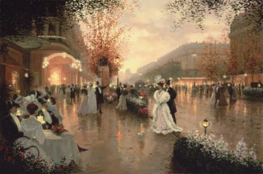 Rendezvous At The Theater- Signed By The Artist								 – Canvas Giclee – Limited Edition – 180 S/N – 24 x 36