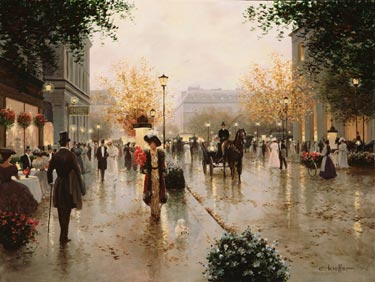 Une Parissienne- Signed By The Artist – CanvasGiclee – Limited Edition – 295S/N – 30x40