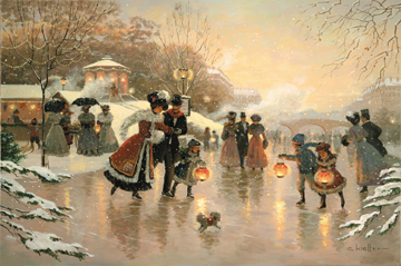 Winter Dance- Signed By The Artist – CanvasGiclee – Limited Edition – 180S/N – 24x36