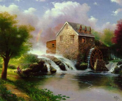 Blessings Of Summer (24 X 30 Canvas)- Signed By The Artist – CanvasLithograph – Limited Edition – 4950S/N – 24x30 –