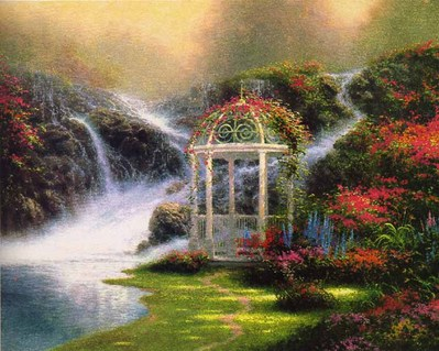 Hidden Arbor (16 X 20 Paper)- Signed By The Artist – PaperLithograph – Limited Edition – 2750S/N – 16x20 –