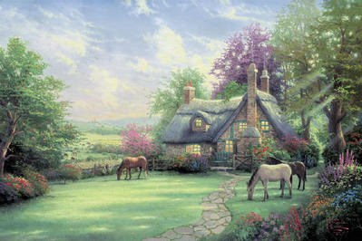 A Perfect Summer Day (18 X 27 Canvas)- Signed By The Artist – CanvasLithograph  – Limited Edition  – 2950S/N  –  18x27