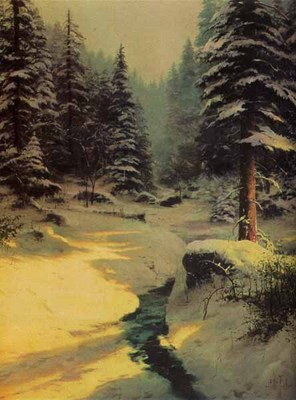 Winter Light (16 X 12 Canvas)- Signed By The Artist								 – Canvas Lithograph – Limited Edition – 980 S/N – 16 x 12 –
