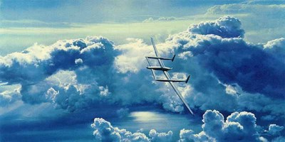 Voyager: The Skies Yield- Signed By The Artist – PaperLithograph – Limited Edition – 1500S/N – 20 1/2x41 1/4