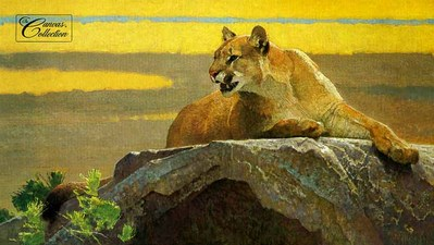 The Look Before The Leap- Signed By The Artist – CanvasLithograph – Limited Edition – 180S/N – 20x35 3/8
