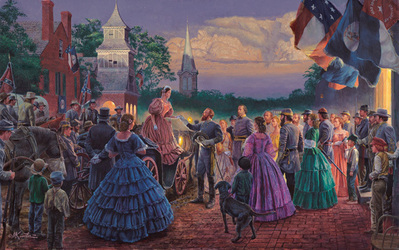 Before The Ball- Signed By The Artist – CanvasGiclee  – Limited Edition  – 10A/P  –  21x33