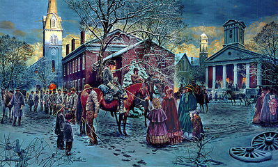 Changing Of The Pickets- Signed By The Artist – PaperLithograph  – Limited Edition  – 1150S/N  –  17 3/4x29 1/2