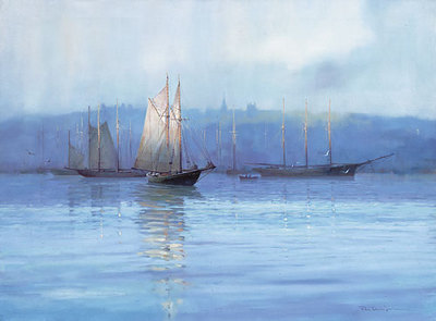 Bluenose Country- Signed By The Artist – PaperLithograph – Limited Edition – 550S/N – 24 1/2x31