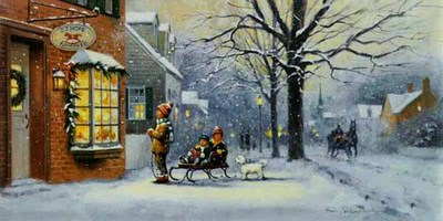 A Christmas Wish- Signed By The Artist – CanvasGiclee  – Limited Edition  – 200S/N  –  11x22