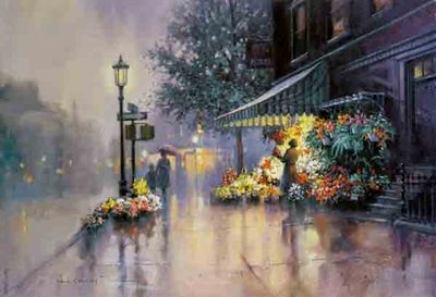 Evening Radiance- Signed By The Artist – PaperLithograph – Limited Edition – 550S/N – 14 1/4x21