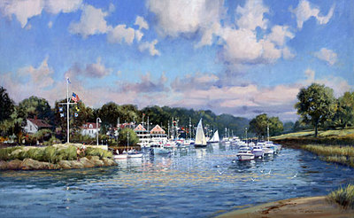 Fairwinds- Signed By The Artist								 – Canvas Giclee – Limited Edition – 100 S/N – 38 x 45