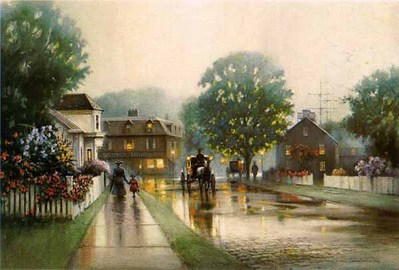 Summer Mist- Signed By The Artist								 – Paper Lithograph – Limited Edition – A/P – 21 1/4 x 32