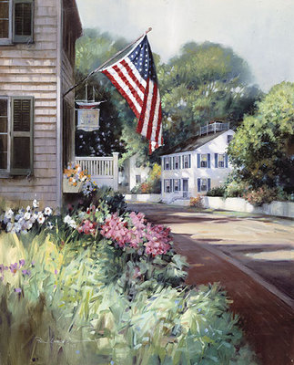 Nantucket Colors- Signed By The Artist – PaperLithograph – Limited Edition – 1500S/N – 16 1/4x13 1/4 –