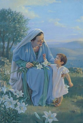 Blessed Among Women- Signed By The Artist – CanvasGiclee – Limited Edition – 180S/N – 18 1/2x11 1/2