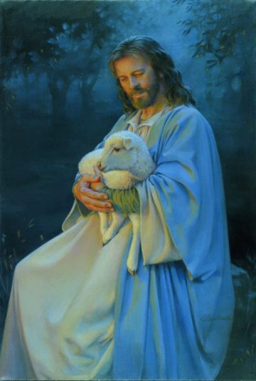 I Know My Sheep- Signed By The Artist – CanvasLithograph – Limited Edition – 180S/N – 19x13