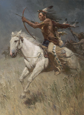 Charging The Enemy- Signed By The Artist – CanvasGiclee  – Limited Edition  – 25S/N  –  29x21