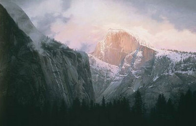 Dance Of Cloud And Cliff- Signed By The Artist – PaperLithograph – Limited Edition – A/P – 21x31 5/8