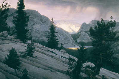 Lake Of The Shining Rocks- Signed By Andrea Lyman – CanvasGiclee – Limited Edition – 75S/N – 27x40