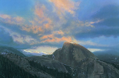 Last Touch Of Light- Signed By Andrea Lyman – CanvasGiclee – Limited Edition – A/P – 22x33