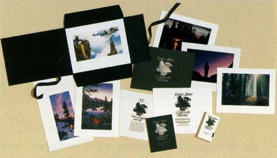 A Light In The Wilderness (15-Piece Portfolio)- Signed By Andrea Lyman								 – Paper Lithograph 								 – Limited Edition 								 – 2250 S/N 								 –  								13 x 17