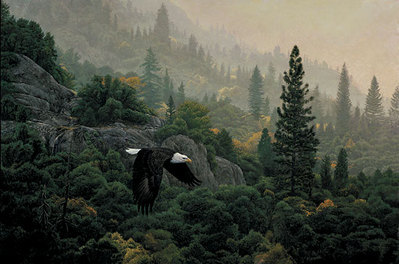October Flight- Signed By Andrea Lyman – CanvasGiclee – Limited Edition – 122S/N – 18x27