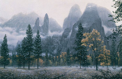 Cathedral Snow- Signed By The Artist – PaperLithograph – Limited Edition – 4000S/N – 23 3/8x33