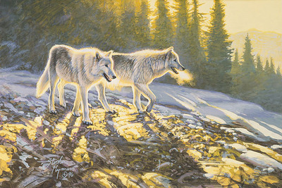 Companions- Signed By Andrea Lyman – CanvasGiclee – Limited Edition – 100S/N – 8x12
