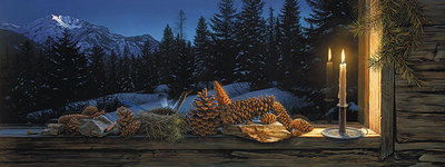Evening Light- Signed By Andrea Lyman – CanvasGiclee – Limited Edition – 325S/N – 18x48