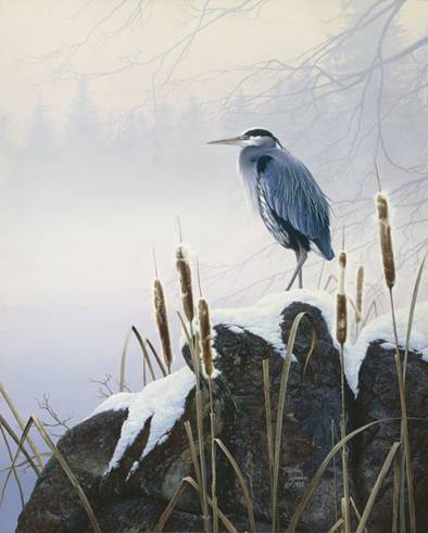 Morning Solitude- Signed By The Artist – PaperLithograph – Limited Edition – 50A/P – 22x18