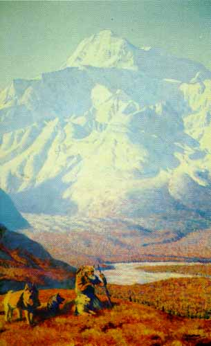 Heritage Of Alaska- Signed By The Artist								 – Paper Lithograph – Limited Edition – 950 S/N – 19 1/2 x 32 –