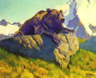 King Of The Mountain- Signed By The Artist								 – Paper Lithograph – Limited Edition – 950 S/N – 20 x 24 1/2
