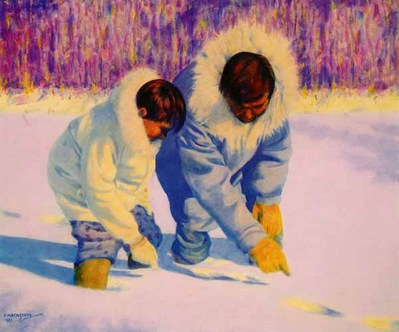 Language Of The Snow- Signed By The Artist								 – Paper Lithograph – Limited Edition – 950 S/N – 15 3/4 x 19 1/4