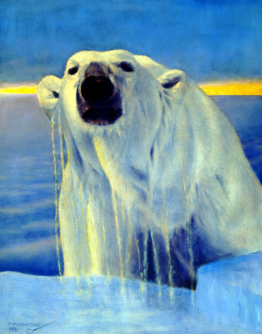 Up In The Arctic- Signed By The Artist								 – Paper Lithograph – Limited Edition – 950 S/N – 23 3/4 x 19 –